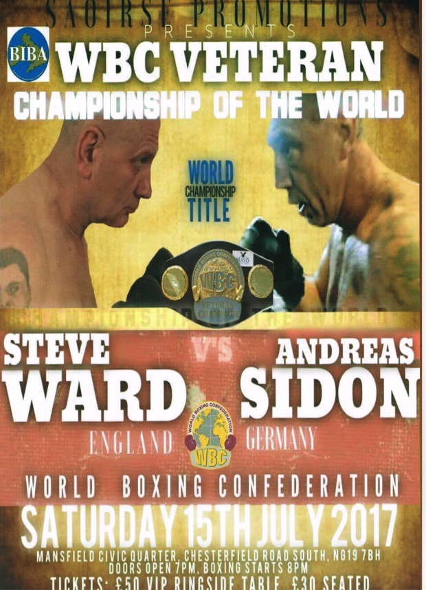 Andreas Sidon - the First World Veteran Champion in Heavyweight